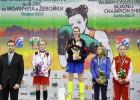 Foto: Marčenko saņem Eiropas junioru čempionāta bronzu