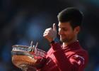 """Foto: Džokoviča vēsturiskais """"French Open"""" triumfs"""