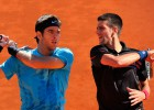 """Džokovičs pret Del Potro un citi saistoši dueļi """"French Open"""" 6.dienā"""
