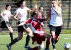 Sieviešu futbola līgā uzvaras Rēzeknei un RFS