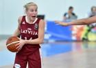 U20 meitenēm vakara cīņa par Eiropas pusfinālu