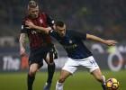 Perisičs pēdējā minūtē izrauj ''Inter'' neizšķirtu Milānas derbijā