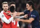 Verati iesit savos, ''Arsenal'' un PSG aizraujošā cīņā uzvarētāju nenoskaidro