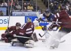 Latvijas U20 izlasei smaga izdzīvošanas cīņa pret pasaules čempioni