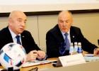 Mežeckis un Indriksons dosies uz FIFA vadītāju samitu Dohā
