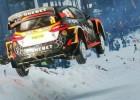 Video: Norvēģis ar WRC auto ''Colin's Crest'' tramplīnā aizlec 44 metrus
