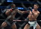 Tairons Vudlijs smagā cīņā nosargā UFC čempiona titulu