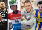 Sportistu iesaukas: Janičs bez Telefona, divi Čigāni, Mušiņa un Kečupiņš