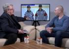 """Video: Ansons par soģu lomu hokejā, pārliecību, komunikāciju un """"dīvāna tiesnešiem"""""""