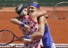 """Mateka-Sendsa un Šafāržova uzvar trešajā """"Grand Slam"""" turnīrā pēc kārtas"""