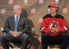NHL drafta pirmais numurs Hišers oficiāli noslēdz līgumu ar ''Devils''