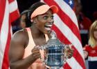 """Amerikāņu finālā Ņujorkā pirmo """"Grand Slam"""" titulu iegūst Stīvensa"""