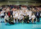 """Video: """"Valmiera"""" finālā zaudē """"Slevik"""" un noslēdz EuroFloorballCup turnīru 2.vietā"""