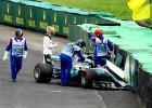 F1 čempions Hamiltons Brazīlijā startēs no boksu celiņa
