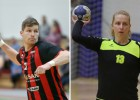 Handbola čempionāta sezonas vērtīgākie spēlētāji - Lazdiņš un Asare
