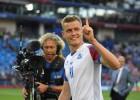 Islandes vēsturiskās spēles izskaņu dzimtenē vēroja iespaidīgi 99,6% TV skatītāju