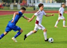 U18 futbolistiem otrajā spēlē neizšķirts pret Islandi