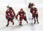 Latvijas U16 hokeja izlase gūst piecus vārtus un pieveic Vācijas vienadžus