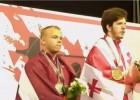 Video: Suharevs iegūst Eiropas junioru sudrabu, līdz zeltam - viens kilograms