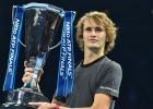 """Zverevs satriec Džokoviču un triumfē """"ATP Finals"""""""
