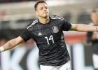 Meksika 18 minūtēs izceļas trīsreiz, Salvadorai viens sitiens, taču uzvara ar 2:0
