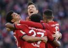 """""""Bayern"""" absolūti dominē un iesit piecus vārtus Dortmundei"""