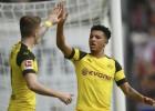 """Dortmundei graujoša uzvara, līdz """"Bayern"""" joprojām punkts"""