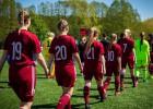 U19 futbolistēm bezvārtu neizšķirts pret Fēru salām