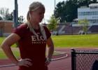 Vesera metēja Igaune vēlreiz labo Latvijas rekordu un izpilda olimpisko normatīvu