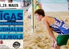 """""""Beach Box"""" hallē notiks Rīgas jaunatnes kauss pludmales volejbolā"""