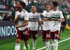 Meksikai dramatiska uzvara piecu vārtu spēlē, Rodrigess izkārto Kolumbijas vārtus Peru