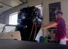 Lijcs izaicina sevi aklajā F4 motora testā (+video)