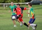 Foto: Ķeguma futbola čempionāta priekšpēdējā kārta