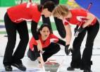 Sieviešu kērlinga turnīrā zināmas visas pusfinālistes