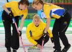 Sieviešu kērlinga turnīrā triumfē Zviedrija
