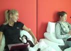 Video: Ciemos pie Elīnas un Lienes