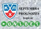 Precīzākais KHL spēļu prognozētājs septembrī - <b>vinnijsp</b>