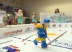 Video: Galda hokeja meistari cīnās par Eiropas čempionāta medaļām