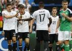 Vācija uzvar Ziemeļīriju un C grupā izcīna pirmo vietu