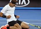 "Nadalam pirmais ""Grand Slam"" pusfināls kopš 2014. gada ""French Open"""