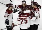 Džeriņš izrauj dramatisku trešo Latvijas uzvaru pēc kārtas