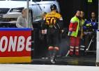 Vāciešu uzbrucējam Hāgeram divu spēļu diskvalifikācija