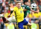 Meksika kapitulē zviedriem, bet kopā ar skandināviem izkļūst no apakšgrupas