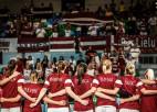 Video: Latvija finišē ar piekāpšanos PK galvenajai favorītei, Šteinbergai 30