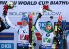 Itālijai uzvara jauktajā stafetē, Igaunijas cerības izgaist pirmspēdējā šaušanā
