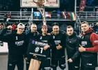 """Slapjajā un aizraujošajā """"Ghetto Basket"""" atklāšanas turnīrā labākās Latvijas komandas"""