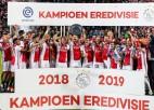 """Eiropas sensācija """"Ajax"""" nodrošina Nīderlandes čempiontitulu"""