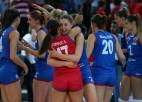 Serbija viesu laukumā uzvar Turciju un kļūst par Eiropas čempionēm volejbolā