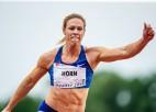 Dienvidāfrikas sprinterei Hornai pagaidu diskvalifikācija