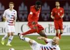 """""""Bayern"""" talants un Kanāda pirmoreiz 34 gadu laikā apspēlē ASV"""